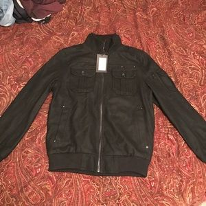 Jack and Jones Other - Black zip up jacket