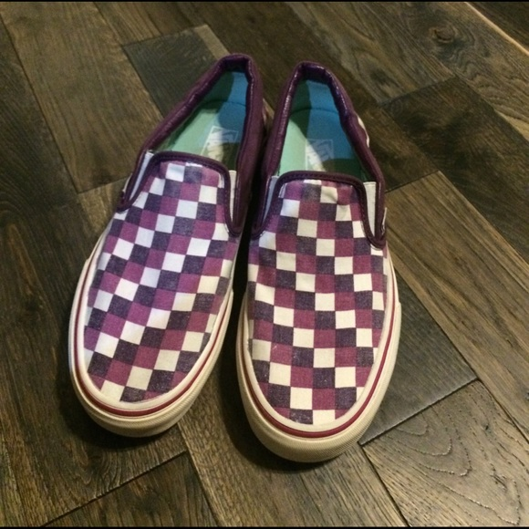 b45bea3d1dfa01 💎RARE COLOR💎 Vans Checkerboard Slip On. M 58a541664e95a3a12705e368