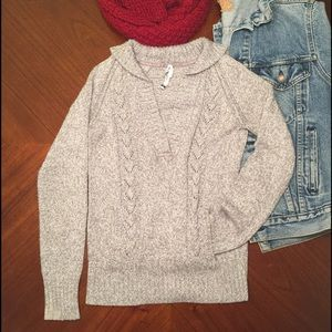 Anchor Blue Sweaters - Gray Anchor Blue Sweater