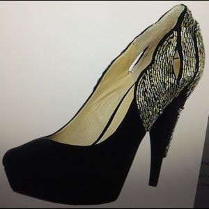 Shoes - NEW $200 Enzo angiolini black SUEDE shoes 8 m new