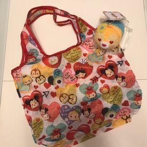 Disney Handbags - Clarice tsum tsum Valentine's eco bag charm