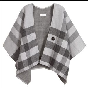 Burberry Other - Girls wool cape