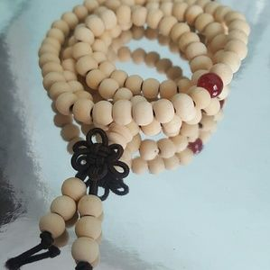 Jewelry - Natural Wood Tulsi (Tulasi) Round Beads