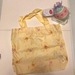 Disney Handbags - Disney Pooh Easter ego tsum tsum eco bag