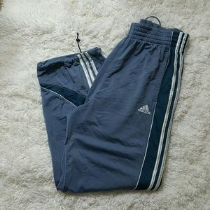 Adidas Other - Adidas Men's Blue Track Pants Medium
