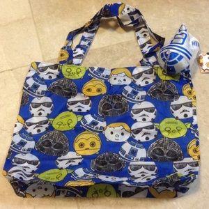 Disney Handbags - R2D2 Disney tsum tsum eco bag charm