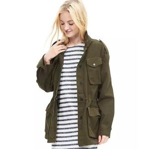 Banana Republic Jackets & Blazers - Banana Republic Army Green Military Field Jacket