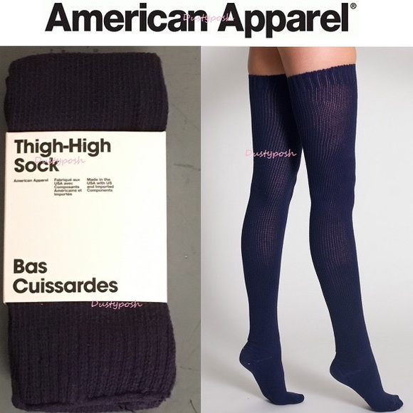 c672f0f83 American Apparel Accessories - American Apparel Thigh High Socks Over The  Knee