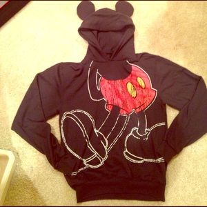 Disney Mickey eared sweater