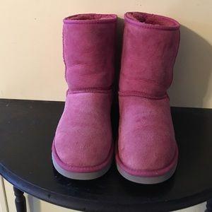 UGG Shoes - Uggs women's 8 raspberry