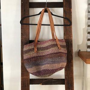 Handbags - Vintage Boho Woven Basket Bag