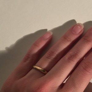 Jewelry - Gold Ring // Wedding Band