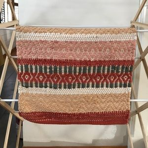 Other - Woven Cotton Rug Boho