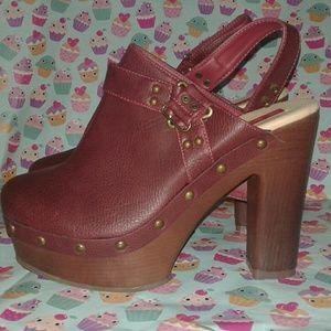 C. Label Shoes - C. Label Mules ankle strap size 10