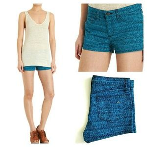 rag & bone Pants - Rag & Bone Biba Shorts in Tweed Print