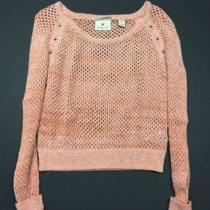 Maison Scotch Sweaters - Madison Scotch Peach Knit Sweater
