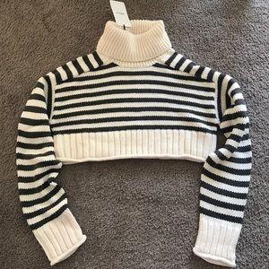 NWT Zara knit cropped sweater