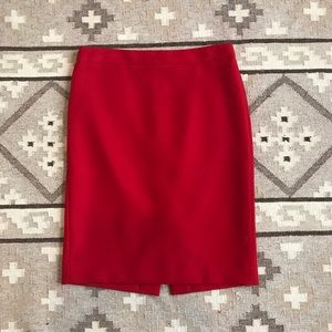 J. Crew Dresses & Skirts - J.Crew No. 2 Pencil Skirt in Double-serge Wool