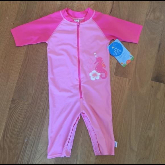 30ed82be iplay Swim   Nwt Light Pink Sunsuit Sz3t Ufp50   Poshmark