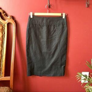 Club Monaco Dresses & Skirts - Black Club Monaco Pencil Skirt