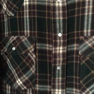 Jackets & Coats - Rock Creek Ranch Lined Flannel SZ Medium