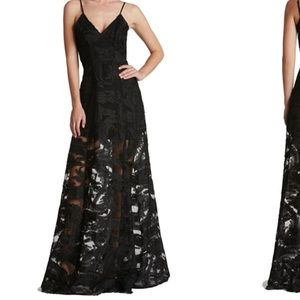 Sheer Lace Illusion Gown