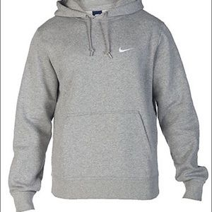 0f0e7858a5e9 Nike Sweaters - ISO Light Grey Nike swoosh sweatshirt