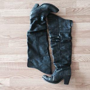 Jeffrey Campbell Shoes - Vintage Jeffrey Campbell OTK Boots