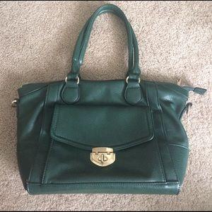 Handbags - Emerald hand bag