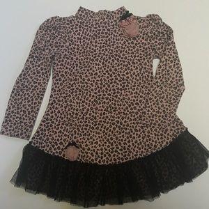 Kate Mack Other - Adorable Kate Mack leopard print dress