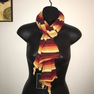 Jachs Accessories - Striped spring - autumn striped scarf