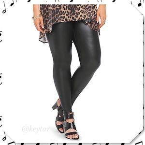 torrid Pants - NWT Torrid Faux Leather Pull On Leggings 💗HP💗