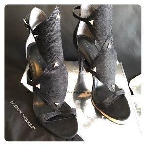 Sigerson Morrison Shoes - Sigerson Morrison - Marino Cone Heeled Sandal-9.5