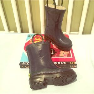 Western Chief Other - Little kids Western Chief Navy Rubber boots
