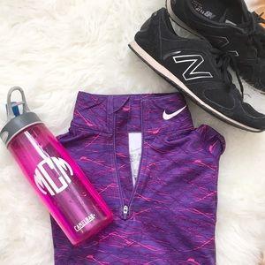Nike Pro Purple Pink Pullover Sweatshirt Sz S