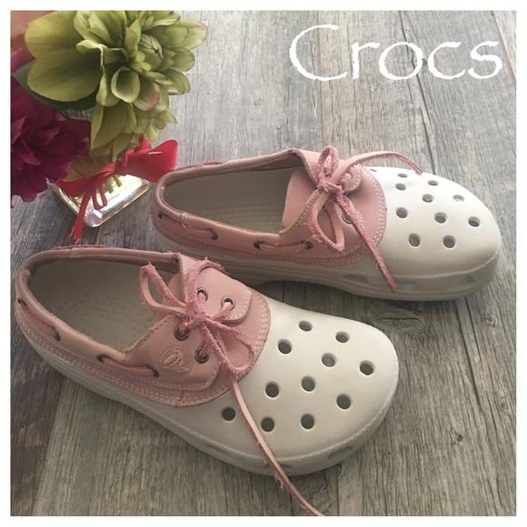 2787c0456 CROCS Shoes - Crocs Islander leather detail Clog