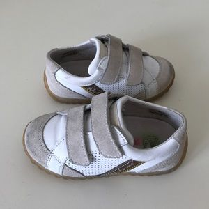 Naturino Other - NATURINO Toddler Leather & Suede Sneakers Size 8.5