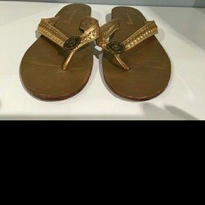 Jack Rogers  Shoes - Jack Rogers Gold Sandals. 8.5