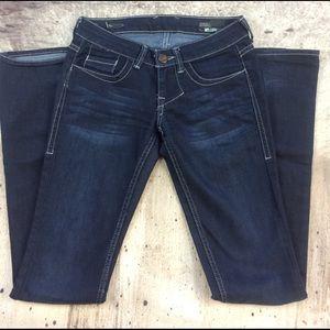 William Rast Denim - William Rast the flared low waist jeans