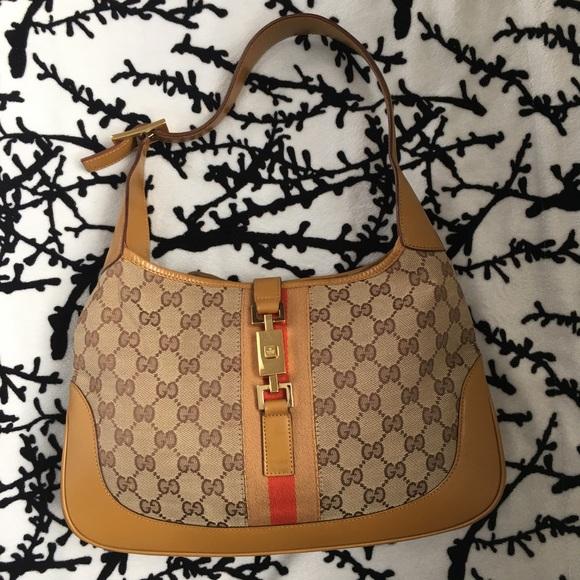 9b976afcdf6e77 Gucci Bags | Jackie O Hobo Bag Authentic Vintage | Poshmark