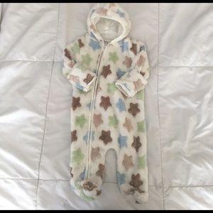 Baby Gear Other - Baby Gear Fleece Star Onesie