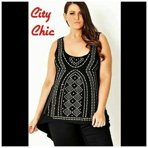 City Chic Other - City Chic Cover-up or Tunic SZ Large