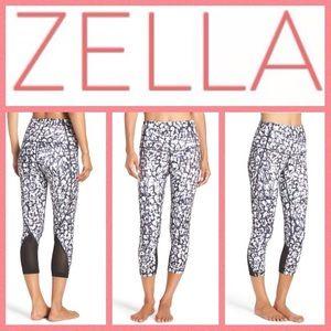 Zella Pants - NEW!  Zella 'Hatha' print high-waist crop leggings