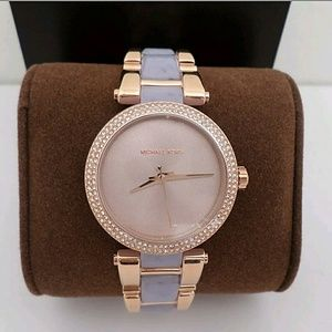 Michael Kors  Accessories - NWT Michael Kors rose gold wisteria ladies watch