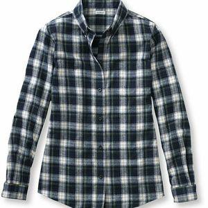 L.L. Bean Woodsy Flannel Shirt