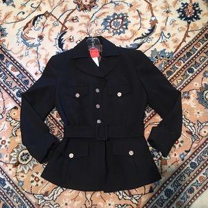 Christian Lacroix Jackets & Blazers - Christian Lacroix new black wool jacket size small