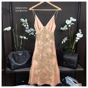 Ermanno Scervino Dresses & Skirts - ERMANNO SCERVINO EMBROIDERED DRESS