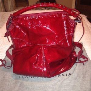 Francesco Biasia Handbags - Gorgeous candy apple red bag!