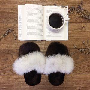 Genuine Fur Slippers