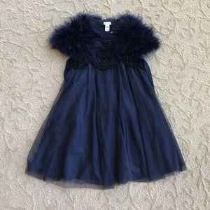 Monsoon Other - Girls navy blue dress